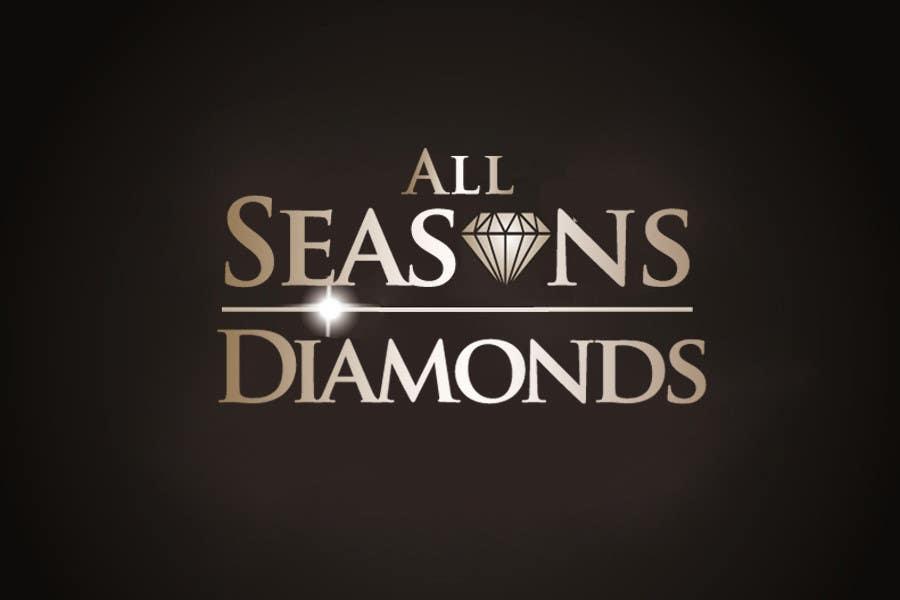 Entri Kontes #                                        123                                      untuk                                        Logo Design for All Seasons Diamonds
