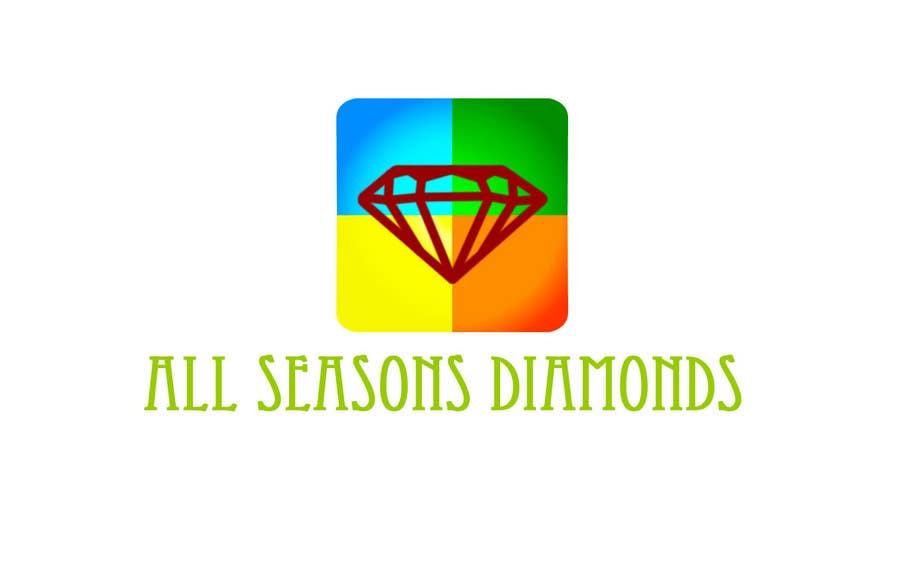 Contest Entry #248 for Logo Design for All Seasons Diamonds