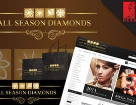 #73 para Logo Design for All Seasons Diamonds de nearart