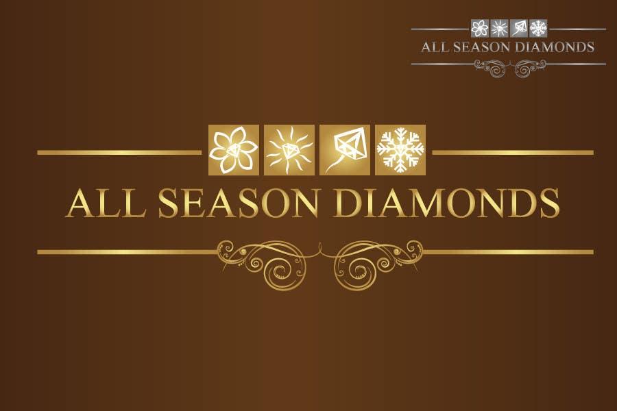 Zgłoszenie konkursowe o numerze #216 do konkursu o nazwie Logo Design for All Seasons Diamonds