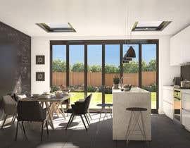 Nro 40 kilpailuun Kitchen & Living room Interior Design käyttäjältä pixelnview