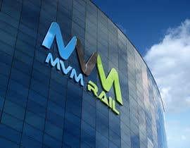 #77 for Design a Logo for MVM Rail by kh10