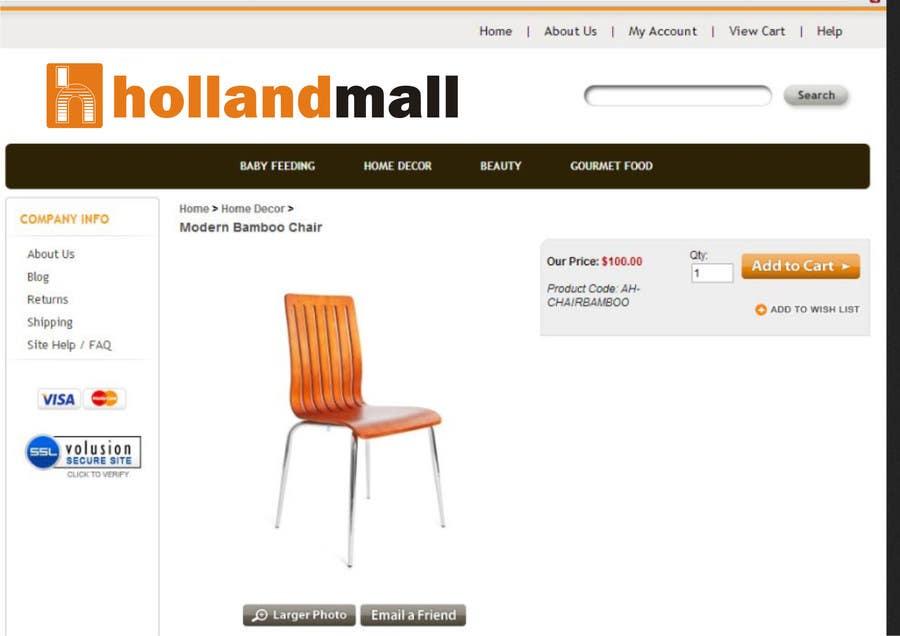 #18 for Logo Design for HollandMall by ezra66