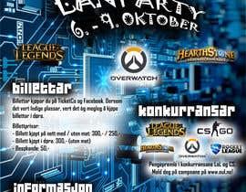 #9 for Make a poster for a LAN party af toonsrookiesaran