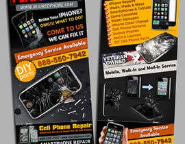 #9 para Graphic Design Flyer for Fix A Phone por creationz2011