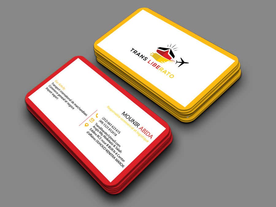 Entry #93 by Habib2858 for Design a Business Cards using this logo ...