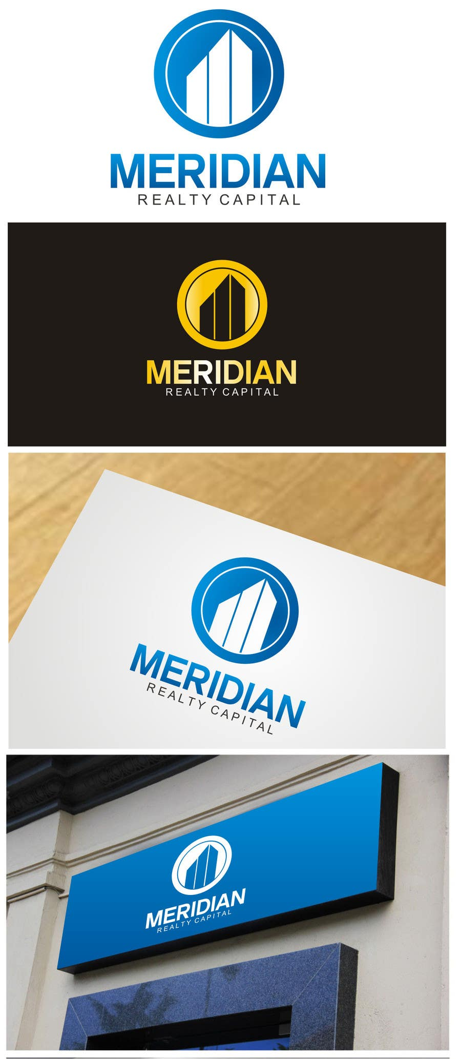#385 for Logo Design for Meridian Realty Capital by ezra66