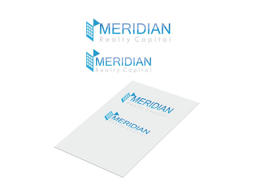 Kilpailutyö #                                        373                                      kilpailussa                                         Logo Design for Meridian Realty Capital