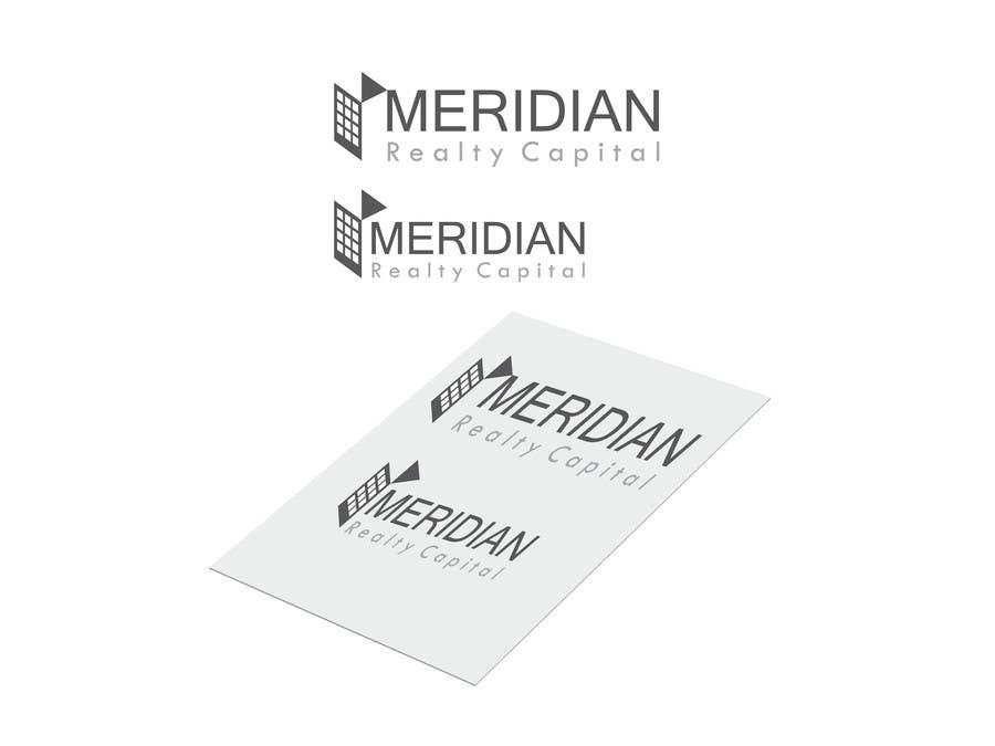Kilpailutyö #                                        371                                      kilpailussa                                         Logo Design for Meridian Realty Capital