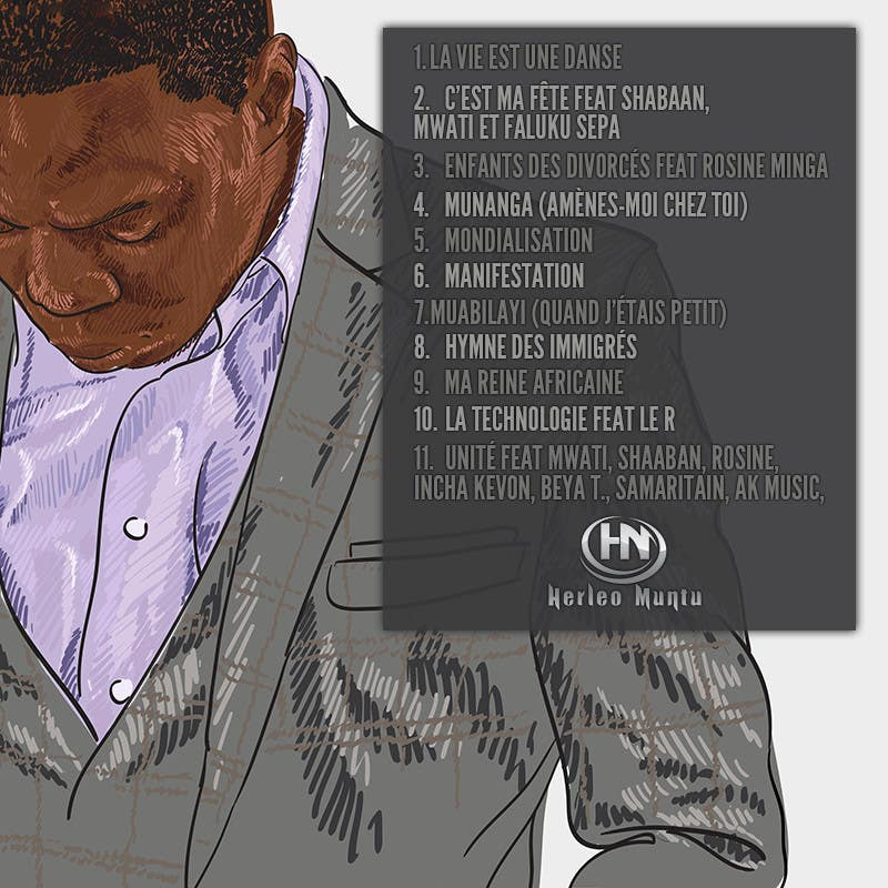 Contest Entry #15 for CD cover Design for Herléo Muntu