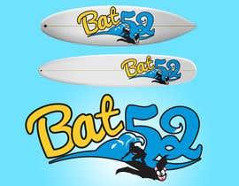 #18 for BAT52 logo  for a Surfboard af HigherPurpose