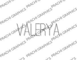 #60 for Valerya Official by prachigraphics