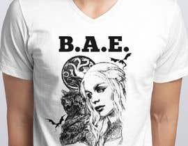 Miyurulakshan tarafından Design a T-Shirt: BAE Best Aunt Ever için no 58
