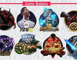 Nro 56 kilpailuun Creation of 8 video game badges (cover) / PVPSKILLS käyttäjältä MidouDesigns