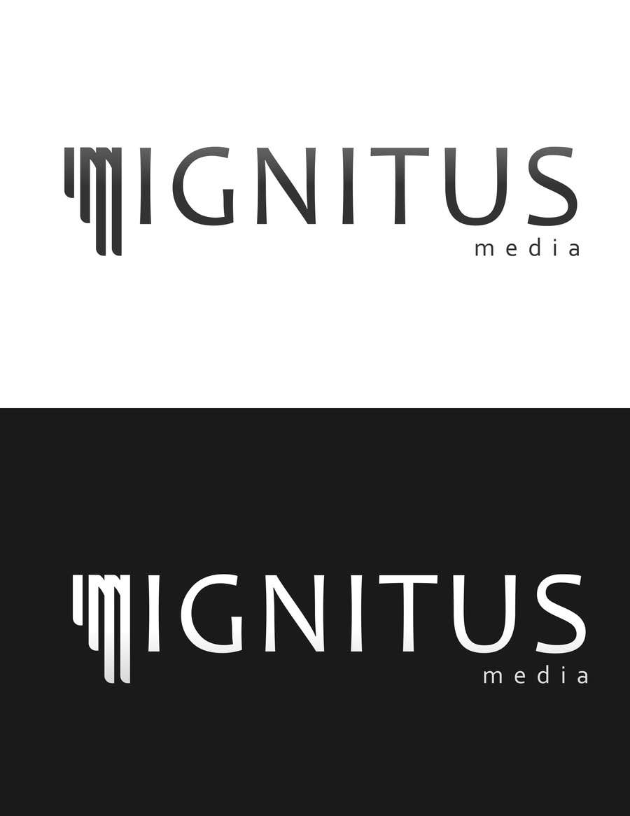 #157 for Logo Design for ignitusmedia. by syahrefi