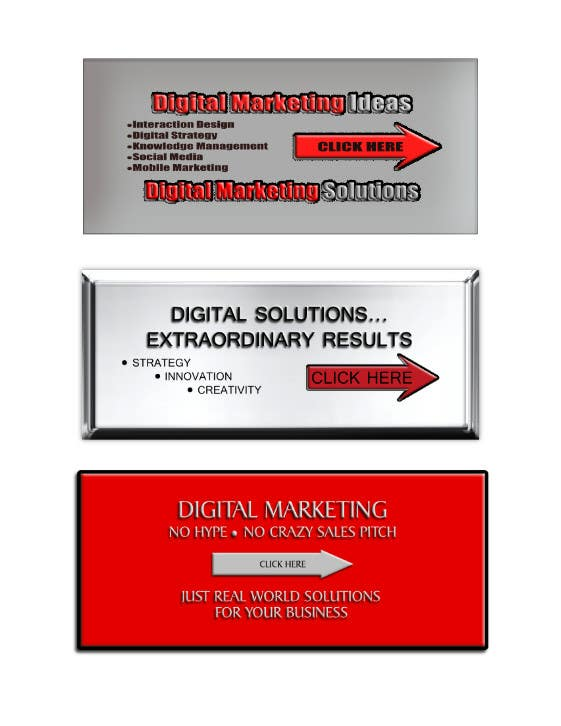 Banner Ad Design for Ocho Digital Inc.