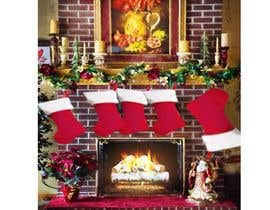 #20 for Christmas Fireplace Scene by paulahelit
