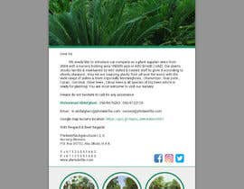 #73 for Very simple Email Marketing Designs for agriculture company size 600X1600 by bivash7