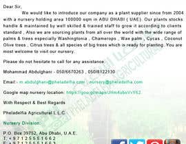 #34 for Very simple Email Marketing Designs for agriculture company size 600X1600 by ssgraphicmaster