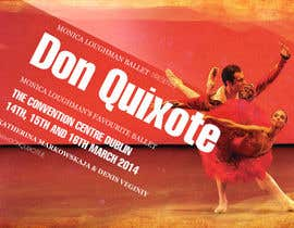nº 208 pour Graphic Design for Classical ballet event called Don Quixote par duongnt97
