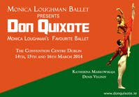 #93 for Graphic Design for Classical ballet event called Don Quixote by aqshivani