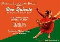Graphic Design Contest Entry #130 for Graphic Design for Classical ballet event called Don Quixote