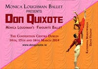 #96 for Graphic Design for Classical ballet event called Don Quixote by aqshivani