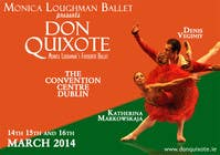 #227 for Graphic Design for Classical ballet event called Don Quixote by aqshivani