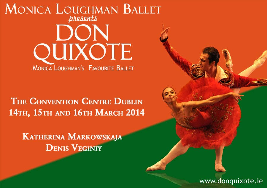 #99 for Graphic Design for Classical ballet event called Don Quixote by aqshivani