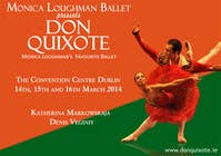 Graphic Design Contest Entry #119 for Graphic Design for Classical ballet event called Don Quixote
