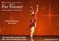 #30 for Graphic Design for Classical ballet event called Don Quixote by aqshivani