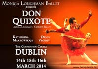 Graphic Design Contest Entry #178 for Graphic Design for Classical ballet event called Don Quixote