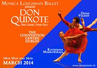 Graphic Design Contest Entry #228 for Graphic Design for Classical ballet event called Don Quixote