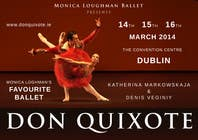 Photography Contest Entry #185 for Graphic Design for Classical ballet event called Don Quixote