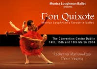 Contest Entry #174 for Graphic Design for Classical ballet event called Don Quixote