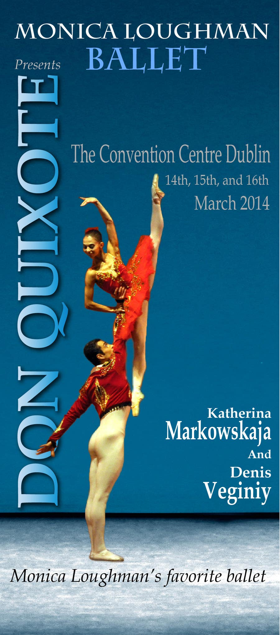 Contest Entry #33 for Graphic Design for Classical ballet event called Don Quixote