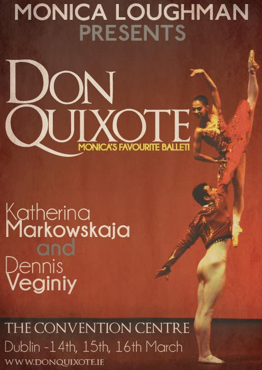 Photography Contest Entry #69 for Graphic Design for Classical ballet event called Don Quixote