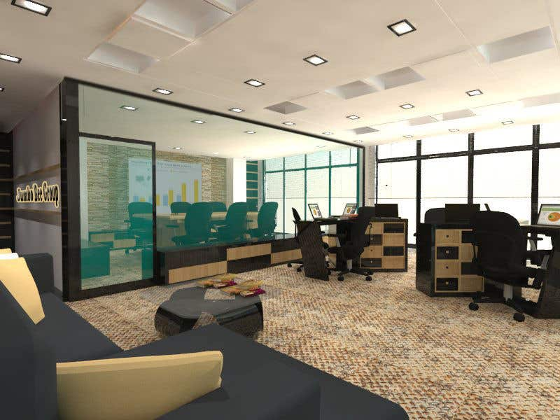 Entry 8 By Abdomostafa2008 For Small Office Interior Design 3d Realization Freelancer