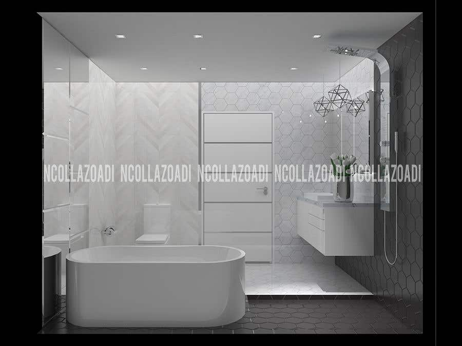 Contest Entry 4 For Talented Interior Designer Wanted To Create Three Amazing Bathroom Designs