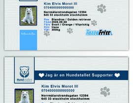 #95 cho Design a Pet ID-Card (for dogs and cats) bởi tohiduddin
