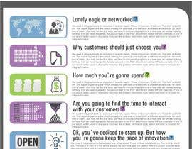 #28 pentru White Paper Infographics sesign for Loft Media Publishing de către lastmimzy