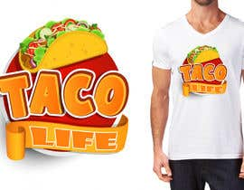 #3 for #TacoLife Shirt Design by marijakalina
