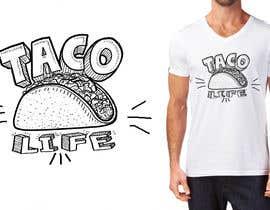 #14 for #TacoLife Shirt Design by marijakalina