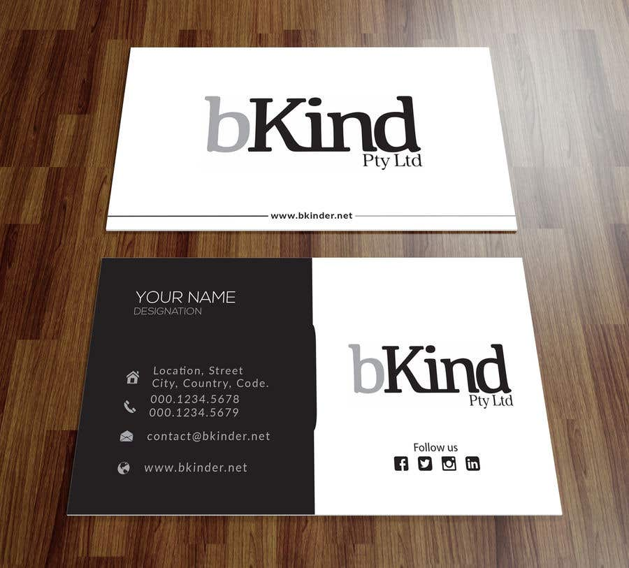 Entry #138 by showravahmed for Design business card and email ...