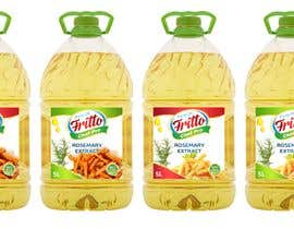 "#28 for Create Label Design for Frying Oil ""Fritto Chef"" by andreasaddyp"