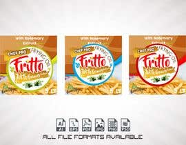 "#24 for Create Label Design for Frying Oil ""Fritto Chef"" by javier1rosari"