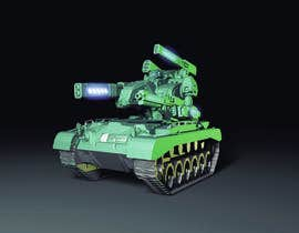 #18 for Paint 3D Mech Models - Contest 3. Tanks and a Missile Mech by EduardoDavila1