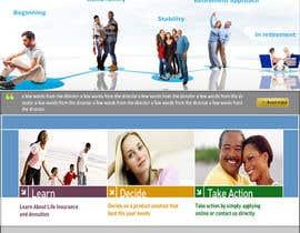 #2 untuk Life Insurance quotation website oleh AlMistral