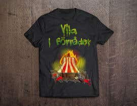#42 cho Create a T-shirt design with text, flames, an axe and a sun chair! bởi bilalghlila