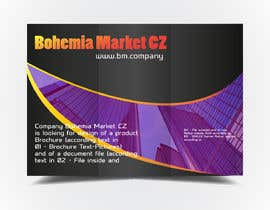 #3 for Company Bohemia Market CZ is looking for base design of document file, brochure and roll-up stands af asik01711